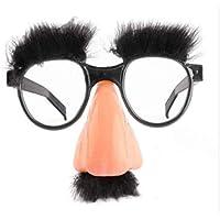 157766b1bd6157 Lunettes de Vue avec Moustache Nez et Sourcils Faux Enfants - Groucho Marx  - Accessoires Déguisement