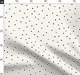 Schwarze Punkte, Gefleckt, Punkte Stoffe - Individuell