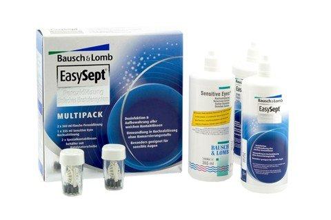 EasySept Multipack, Pflegemittel und Saline für Kontaktlinsen