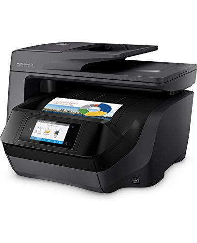 Top HP Officejet Pro 8728 Colour Multifunctional Printer, Instant Ink Compatible with 4 Months Trial + £ 50 Cashback subject to HP T&C's.