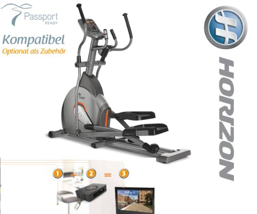 Elite E4000 Crosstrainer mit Passport Ready Kompatibel- Horizon Fitness - 4