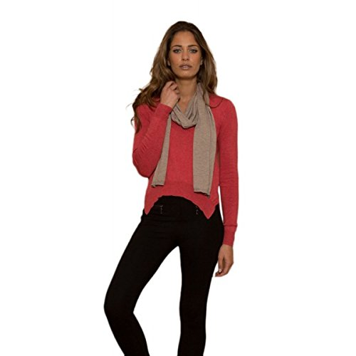 Les P'tites Bombes -  Maglione  - Donna rosso Large