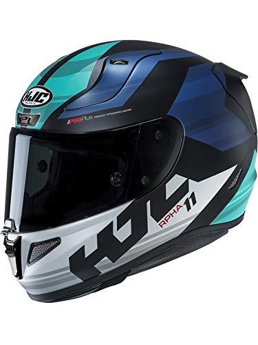 Casco Moto Hjc Rpha 11 Naxos Blu (L, Blu)