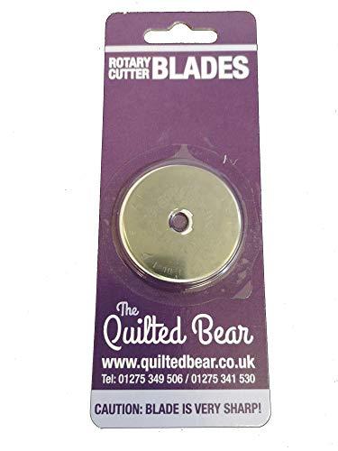 Quilted Bear DAFA 45mm, lama di ricambio per taglierina rotativa adatto per Olfa e Fiskar