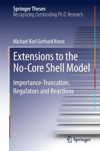 Extensions to the No-Core Shell Model: Importance-Truncation, Regulators and Reactions (Springer Theses) (English Edition) -