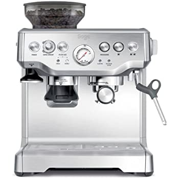 Sage by Heston Blumenthal BES870UK the Barista Express Espresso Machine - Silver