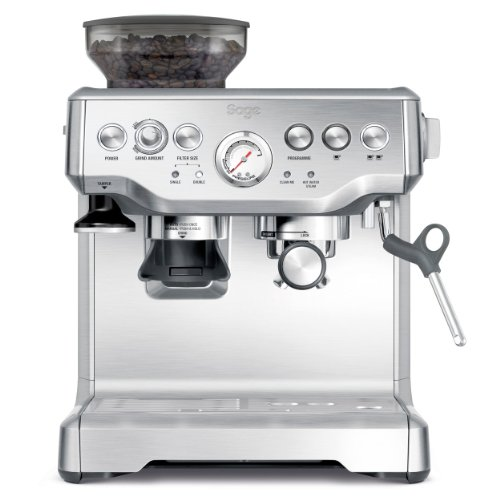 Sage BES870UK the Barista Express Espresso Machine - Silver thumbnail