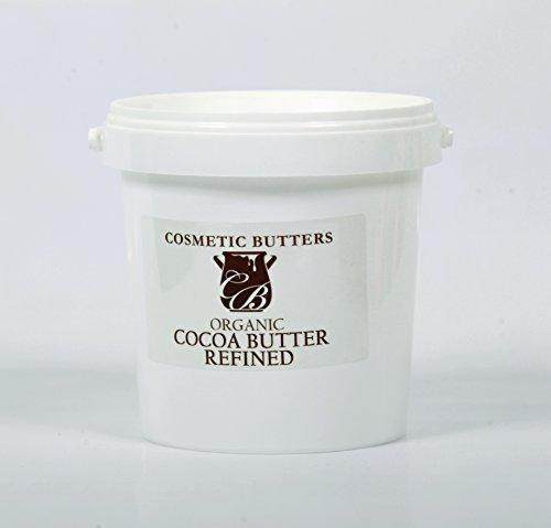 Kakaobutter Raffiniert Ökologisch - 100% Pur und Natürlich - 1Kg