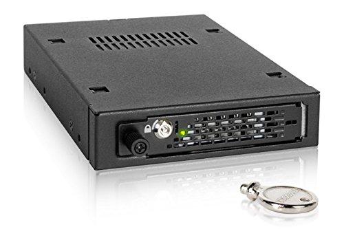 - Sas-hot-swap (Icy Dock ToughArmor EX MB491SKL-B - SATA/SAS Hot Swap Wechselrahmen für 2,5 Zoll (6,4cm) SSD/HDD - Vollmetall mit Thumbscrew)