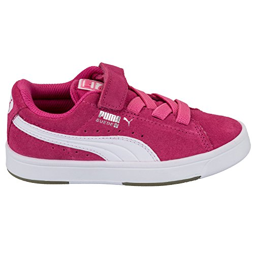 Puma , Baskets pour fille Rose