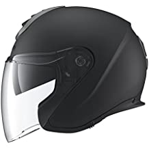 SCHUBERTH M1 London Matt Black Casque Moto Jet (M,noir)