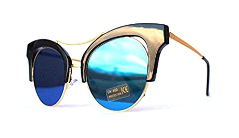 50er 60er Jahre Retro Vintage Sonnenbrille Sommerbrille Clubmaster Style Rockabilly