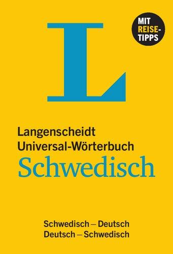 Langenscheidt Universal-Wörterbuch Schwedisch - mit Tipps für die Reise: Schwedisch-Deutsch/Deutsch-Schwedisch (Langenscheidt Universal-Wörterbücher)