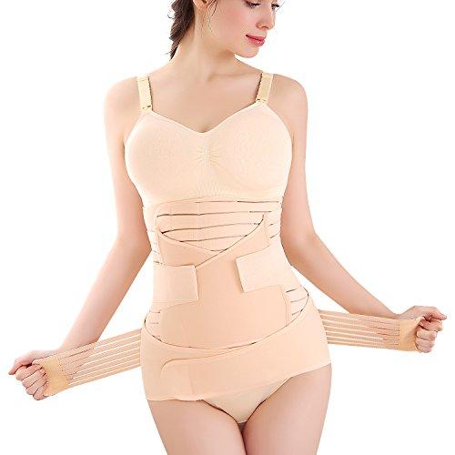 Symbom 3 in 1 Postpartale Unterstützung Recovery Gürtel-Bauch/Taille/Becken Gürtel postpartale Shapewear - XL