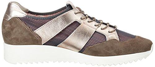Högl Damen 3-10 3317 6218 Sneakers Beige (antrazit/nude6218)