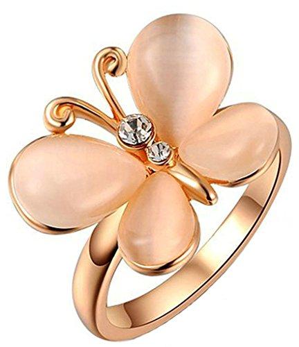 Anelli Donna Matrimonio Placcato Oro Rosa Circle