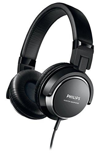 Philips shl3260bk cuffie, nero