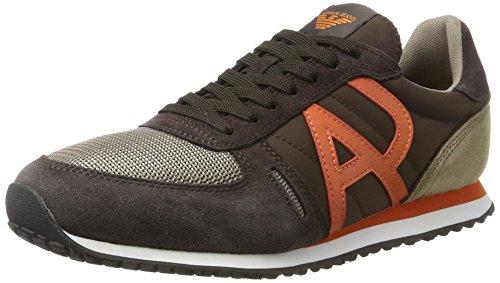 Armani JeansSneaker Low Cut - Low-top Uomo Braun (Brown 1771)