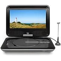 Dual DVD-P 905 Lettore DVD portatile, schermo LCD da 22,9 cm (9 pollici), sintonizzatore DVB-T, USB, colore: Nero - Trova i prezzi più bassi su tvhomecinemaprezzi.eu