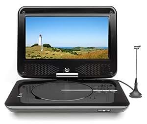 Dual DVD-P 905 Tragbarer DVD-Player (22,9 cm (9 Zoll) LCD