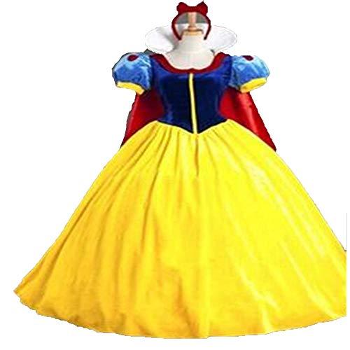 Olydmsky Disfraz Disfraces HalloweenCosplay Disfraz Halloween Blancanieves Vestido de Traje de Navidad