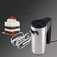 Rellon Hand Blenders Multifunctional Food Mixers High Power 5 Speeds Electric Egg Beater and Hend Mixer with 5 Speed…