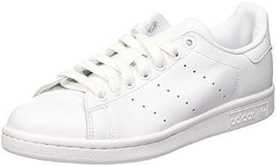 adidas Stan Smith, Sandalias con Plataforma Unisex, Blanco, 4.5 EU