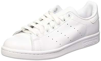 adidas Stan Smith, Baskets Mode Mixte Adulte, Blanc (Footwear White/Footwear White/Footwear White), 39 1/3 EU