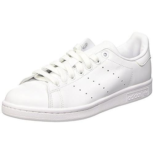 adidas Stan Smith, Baskets Mode Femme, Blanc (Footwear White/Footwear White/Supplier Colour), 36 2/3 EU