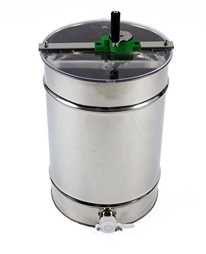 Stainless steel Honey Extractor (Manual 4 frame) from Easipet (00127A) 8