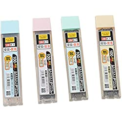 Youliy Box mina de grafito 2B portaminas de repuesto de plástico para lápiz automático, juego de 100 7