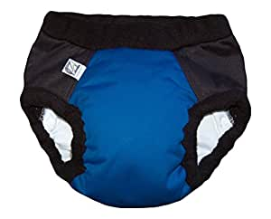 Super Undies Bedwetting Nighttime Underwear Size 4 (Xxl), Bat Boy (Dark Blue) By Super Undies