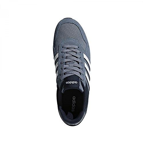 adidas Herren 10k Gymnastikschuhe Mehrfarbig (Raw Steel S18/ftwr White/collegiate Navy Raw Steel S18/ftwr White/collegiate Navy)