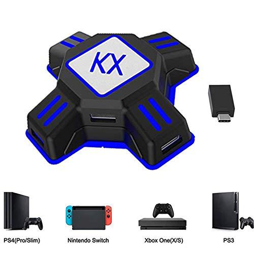 Adapter Maus und Tastatur Konverter für PS4 PS3 Xbox One Nintendo Switch KX USB Game Controller Converter Keyboard Mouse