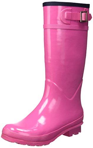 Superga 792 Regen Stiefel Neu Frauen Schuhe Fuxia