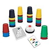 deAO Tazze Pazze Set di Vasi per Impilare con velocità, Agilità e Destrezza Giochi di società per Bambini e la Famiglia