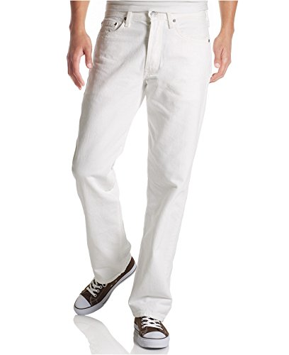 Levi's® Mens 511™ Slim/Skinny Fit (W40L32, Weiss / White) (Fit 511 Jeans Skinny)