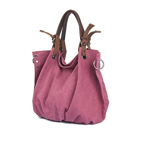 XIONG12, Borsa a spalla donna Rose Red