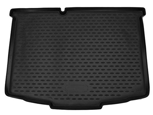 AD Tuning TM28011 Passform Gummi Kofferraumwanne, Rutschfest, schwarz
