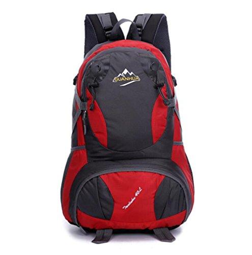 Wmshpeds La moda casual zaino grande e gli studenti delle scuole medie borsa computer borsa zaino di viaggio big bag C
