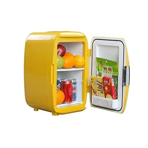 LMDC Mini Kühlschrank Kühlschrank Auto Dual-Use-Schlafsaal Typ 16L Auto Kühlschrank (43,3 * 29,2 * 33,3 cm)