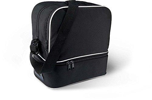 KiMood Boule-Tasche. Für 6 Kugeln, Schwarz,L