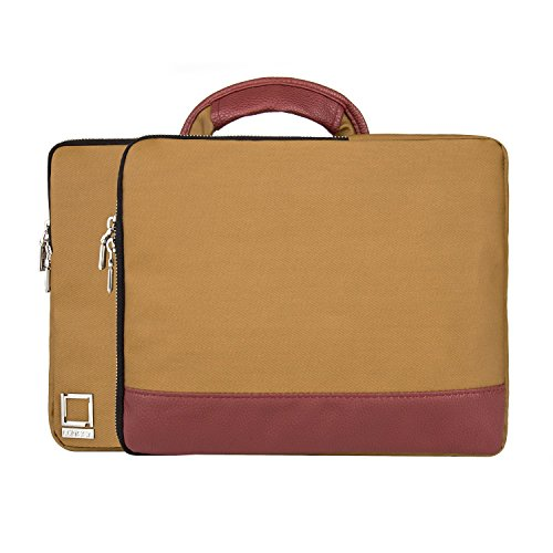 HP Spectre/Pavilion/EliteBook/Envy 30,5 cm 33 cm Laptop Tasche Touch Bildschirm Brief Fall Tablet Fall braun Tan Wine 33 cm (13 Zoll) (Executive Brief Tasche)