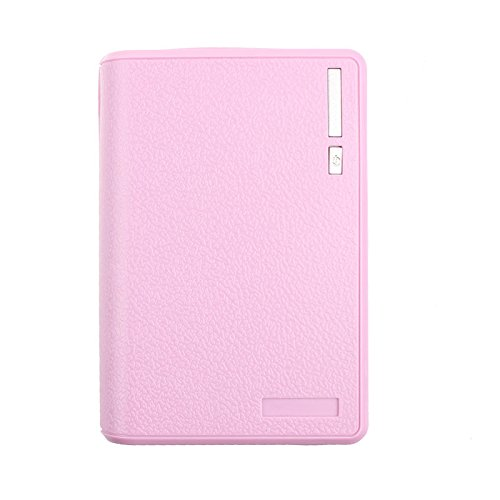 Hykis USB 5V 2A 18650 Energien-Bank-Batterie-Kasten-Ladeger?t f¨¹r Smartphone iphone [lila]