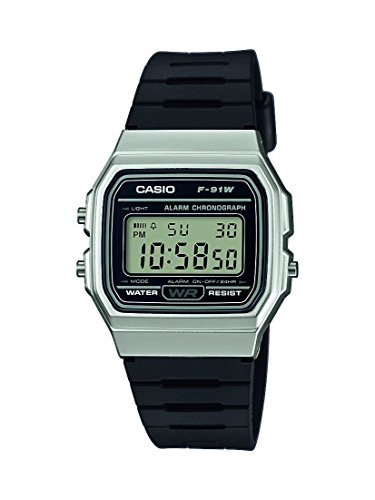 Casio Collection Unisex Armbanduhr F-91WM-7AEF (Uhren Casio Quarz)