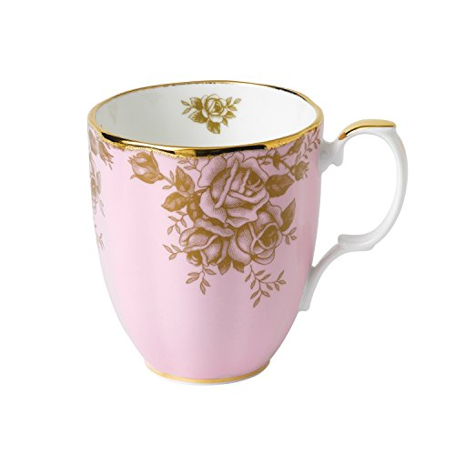 100 Years by Royal Albert Tasse, Design: 1960 Golden Rose, Fassungsvermögen: 0,4 l China-tee-party