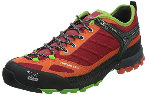 Salewa MS FIRETAIL EVO, Chaussures de Fitness homme Rouge - Rot (1606 Red/Emerald)