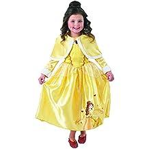 Rubie's - Disfraz de Princesa Disney Belle, Invierno en Wonderland para niña, talla grande, 128 cm