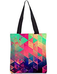 Snoogg Tote Bag 13.5 X 15 Inches Shopping Utility Tote Bag Made From Polyester Canvas - B01GCIM3XA