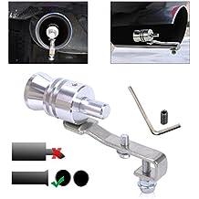 Fischietto per marmitta Valvola effetto turbo Turbina sound Tunning auto (L)